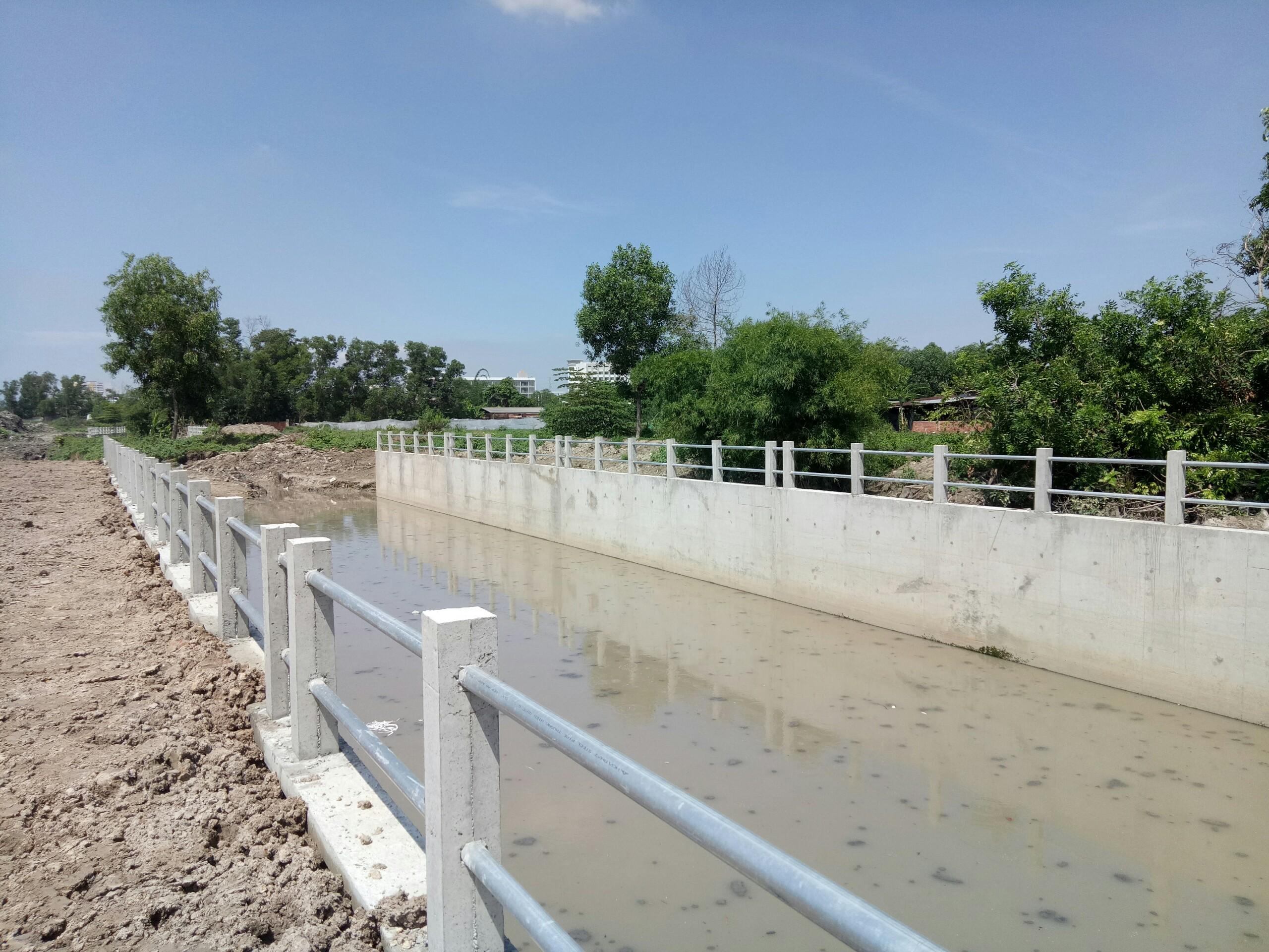 Công trình: hệ thống thoát nước thị trấn Dĩ An và KCN Tân Đông Hiệp