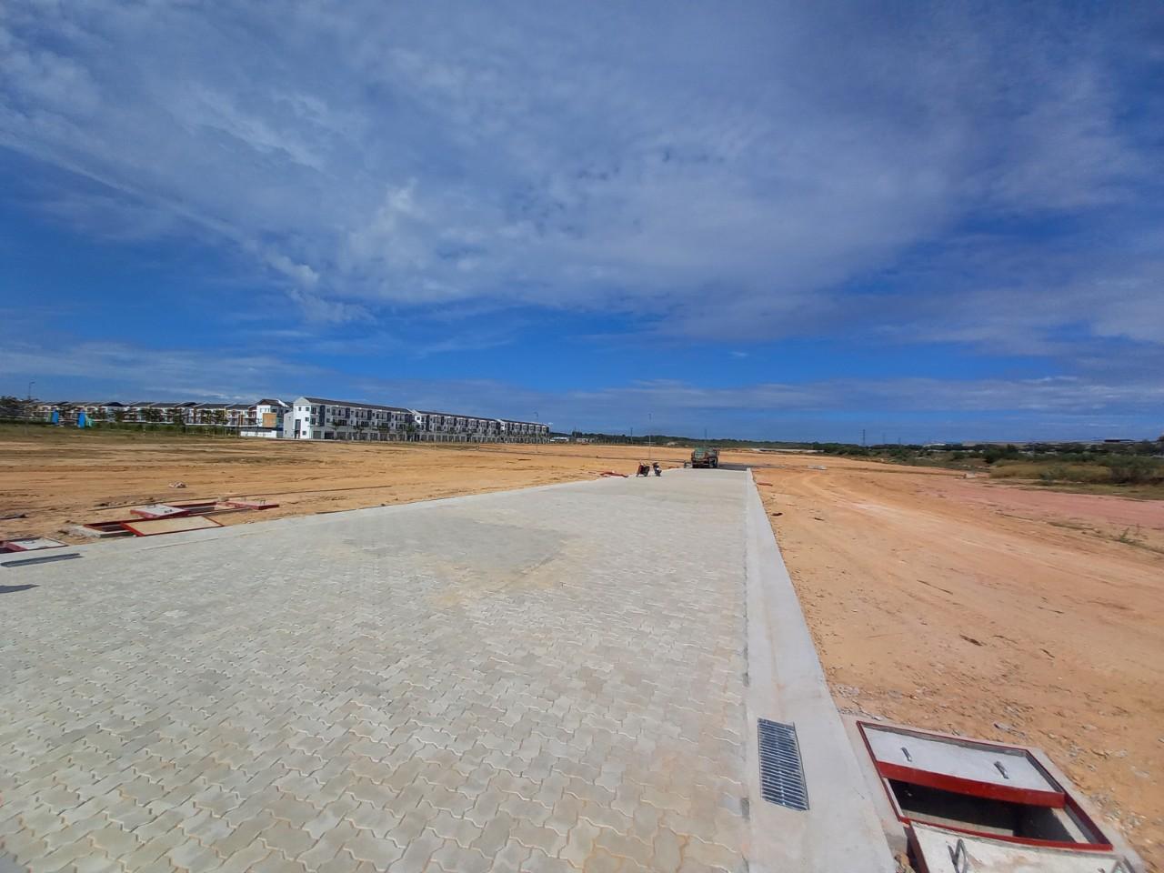 Cung cấp vật liệu, thiết bị và xây dựng hạ tầng đường XN1A và đường nội bộ trung tâm thương mại Sun Casa