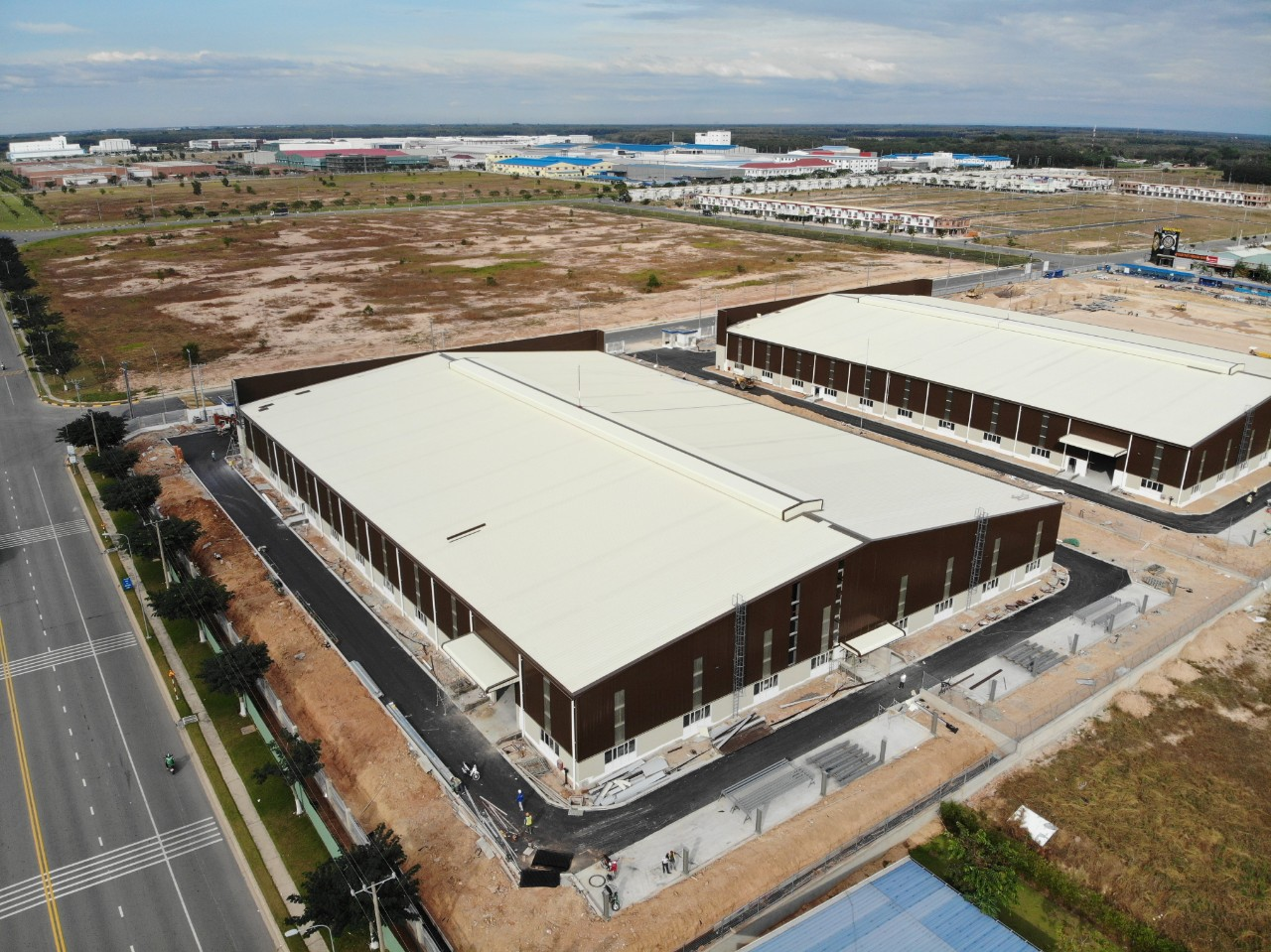 Dự án: Thiết kế và thi công nhà xưởng xây sẵn giai đoạn 1 tại lô đất XXIX, đường số 28, khu công nghiệp VSIP II-A, tỉnh Bình Dương